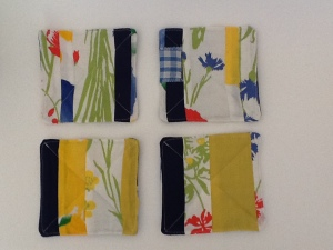 Four coasters in 'Summer Meadow'
