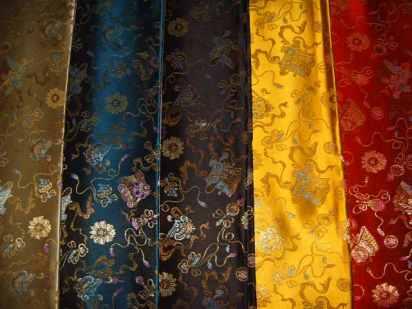 Supply_silk_Chinese_satin_Brocade_satin_150cm