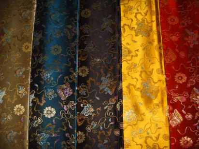 Supply_silk_Chinese_satin_Brocade_satin_150cm